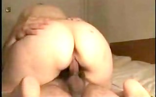 wife gives her chap a wonderful ride