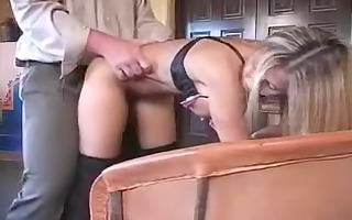 sexy dilettante wife playing with pounder
