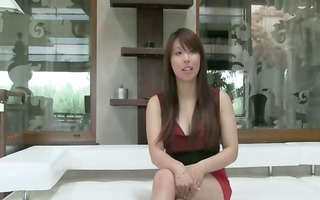 oriental chick with large billibongs fucking on