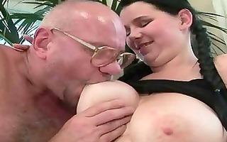 favourable grandpas vs young gals compilation