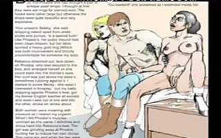 horror comics chicks captured sadomasochism