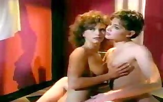 vintage lesbo porn scene with plenty of bawdy