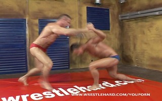 bodybuilder wrestler homosexual sex