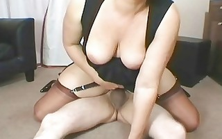 ravishing golden-haired mother i sucks her lovers