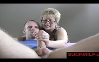 blond mother i aid guy with orgasm