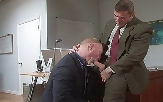 old homo lads fuck in office
