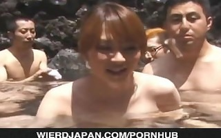 outdoor porn party with concupiscent chicks