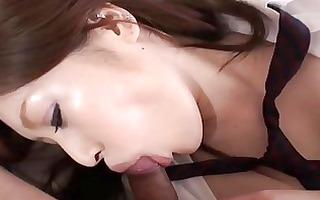 enjoyment with oriental angel