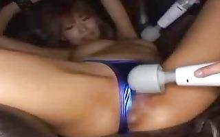 kirara asuka toyed in bondage