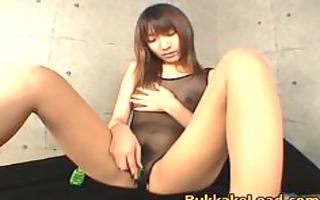 chinami kawana stuffing her twat part11