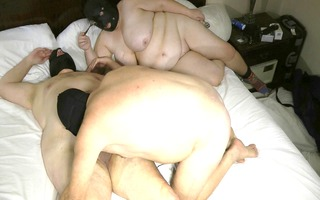 mmf bondman is given a bj show by married sissy