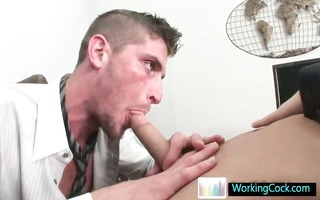 shane engulfing and fucking his future boss by