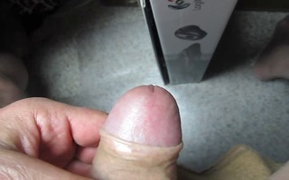 04 yr old grand-dad close cum #210 spunk fountain