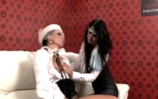 0 lesbian babes toy and finger each other!!!!!!!