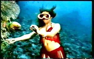 vintage soft erotica (underwater striptease)