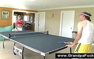 golden-haired teen has her cunt licked by a