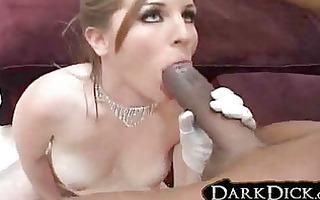 white wife screwed by darksome stud underware
