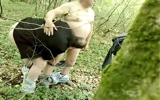 chubby daddy in the wood - saltarg