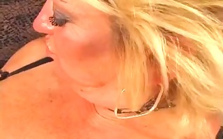 granny allows her recent darksome stud to fuck