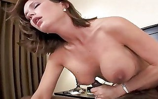non-professional mother i sweetheart takes facial