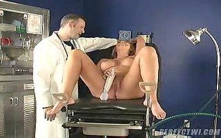 doctor and his assistant takes care of d like to
