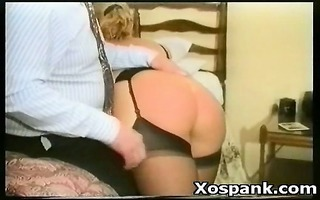 torture loving playgirl in seductive spanking and