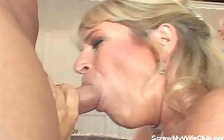 swinger wife acquires drilled hard