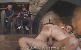this hotwife swinger receives fucked hard