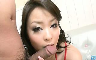yuu haruka is one cum loving japanese babe who
