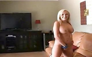 breasty blond milf