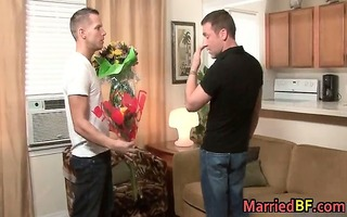 hawt married guy gets his a-hole rimmed 10