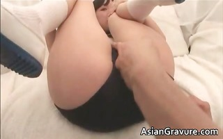 hawt asian lady takes weenie up the taut part11