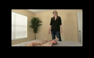 precious angel helping not her brother to cum bvr