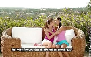 devin and juliette cute superb lesbian babes