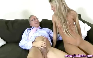 spruce mature lad copulates sexy younger honey