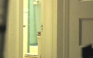hidden web camera of wife after shower
