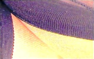 retro girdle & stockings