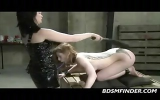 i receive lesbian dominated and strapped on fucked