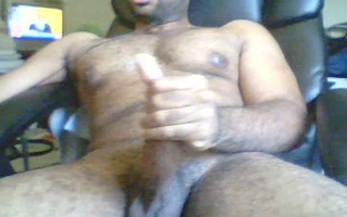 oiled up &; hard as a rock