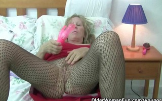 british grannies love solo sex in nylons and hose