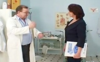 hirsute vagina grandma visits pervy woman doctor