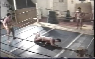 homo wrestling match - take down productions