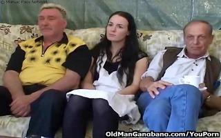 slutty grandpas fuck younger wench