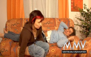 mmv films german aged wife screwed on film
