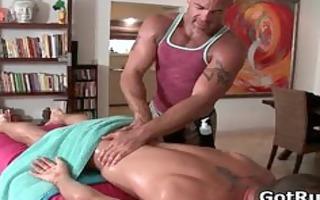 super hawt boy receives wonderful body massages