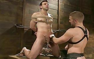 hardcore knob punishment on its maximum