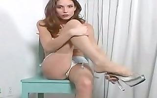 hawt mother i disrobes and masturbates