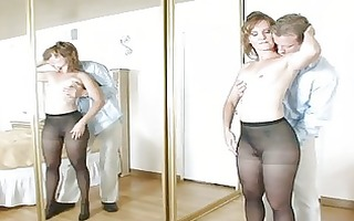 aged sadie acquires pounding by youthful guy