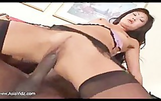 ribald oriental whore engulf and ride anally a
