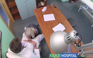 fakehospital doctors hawt blond ovulating wife